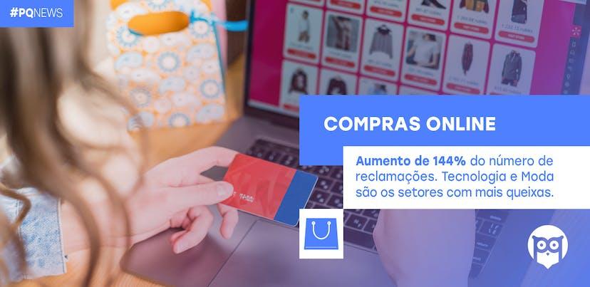 Compras online geram uma média de 50 reclamações por dia no Portal da Queixa