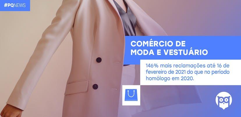 Mais de 2000 queixas dirigidas ao Comércio de Moda e Vestuário