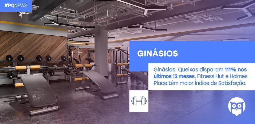 Ginásios: melhor Índice de Satisfação vai para Fitness Hut e Holmes Place