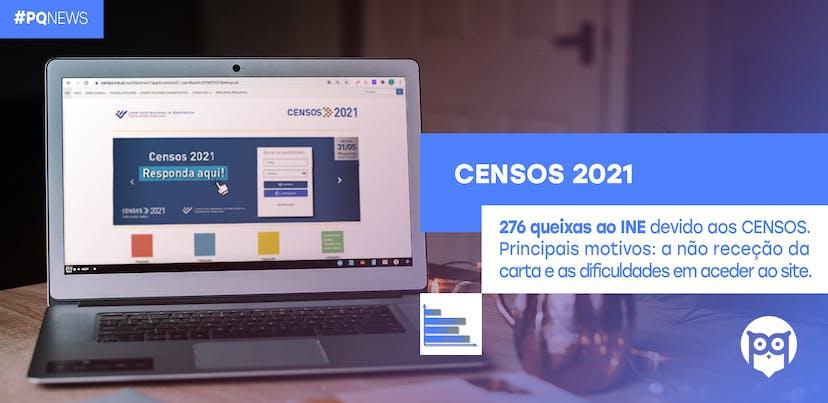 INE alvo de mais de 270 queixas relacionadas com CENSOS 2021